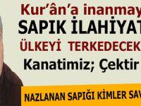 Kur'ân'a inanmayan sapık ilahiyatçı Mustafa Öztürk ülkeyi terk edecekmiş! Cehennemin dibine kadar yolun var!