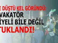 Taksim provakatörünün maskesi düştü!