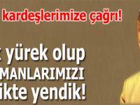 """Ufuk Coşkun: """"Asla karşı karşıya gelmesi mümkün olmayan Türk ile Kürd'ü birbirine düşman ettiler."""""""