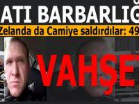 Batı barbarlığı; Cuma namazı kılanlara terör saldırısı; Onlarca ölü yüzlerce yaralı var!