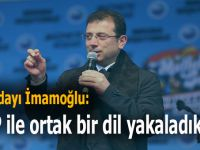 CHP adayı Ekrem İmamoğlu; HDP ile ortak bir dil yakaladık!