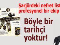 Türk ve Müslüman düşmanlığı ile yoğrulmuş bir teşkilât mevcut!