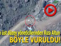 PKK'nın yönetici kadrosuna operasyon; Rıza Altun böyle vuruldu!