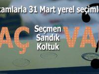 Rakamlarla 31 Mart yerel seçimleri!