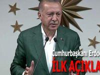 """Cumhurbaşkanı Erdoğan'dan ilk açıklama: """"Yine açık ara birinci parti olarak çıktık!"""""""