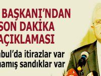 """YSK Başkanı Sadi Güven'den """"İstanbul"""" açıklaması!"""