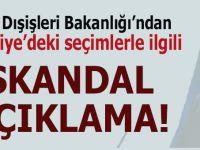 ABD'den Türkiye'deki seçimlerle ilgili skandal açıklama!