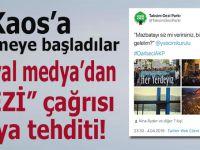 """Sosyal medyadan """"Gezi kalkışması"""" tehditi!"""