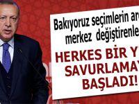 """Cumhurbaşkanı Erdoğan: """"Herkes bir yere savrulmaya başladı, bu dava adamı olmak değil!"""""""