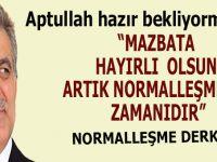 Aptullah Gül'den İmamoğlu'na tebrik mesajı!