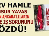 Mansur Yavaş'tan dev bir hamle daha; Bütün Ankara'lıların aş ve iş sorununu çözdü!