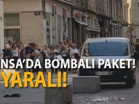 Fransa'da bombalı paket patladı: 13 yaralı