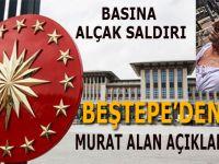 Cumhurbaşkanlığı'ndan Murat Alan'a yapılan terör saldırısına sert tepki