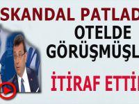 Skandal patladı: İsmail Küçükkaya, canlı yayından 4 gün önce İmamoğlu ile Taksim'de bir otelde görüştü!