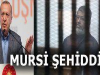 """Cumhurbaşkanı Erdoğan: """"Bizim gözümüzde Mursi şehiddir!"""""""