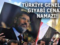 Şehid Mursi için Türkiye genelinde gıyabi cenaze namazı!