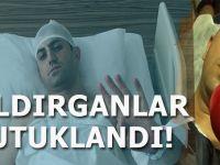 Murat Alan'a saldıran 4 alçak tutuklandı!