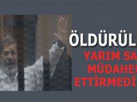 """Tanıklar: """"Muhammed Mursi öldürüldü!"""""""