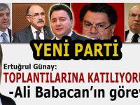 """Günay, 'Toplantılara katılıyorum' diyerek """"yeni parti""""de Ali Babacan'ın görevini açıkladı!"""