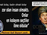 """Mehmet Sadi Bayazıt yazdı; """"Onlar en kolayını seçti  ibne oldular..."""""""