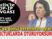 """HDP'li vekil İP'li vekillere böyle seslendi: """"PKK'ya gönül verenlerin oylarıyla o koltuklardasınız!"""""""