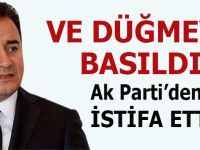 Yeni Parti strat aldı; Babacan istifa etti, açıklama yaptı!