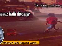 Mehmet Sadi Bayazıt yazdı; -sponsorsuz halk direnişi-