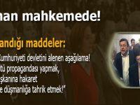CHP İstanbul İl Başkanı Kaftancıoğlu mahkemede; İşte bu suçlardan yargılanıyor!