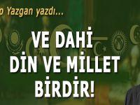 """Recep Yazgan: """"Ve dahi din ve millet birdir!"""""""