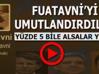 """Fuatavni'yi bile yeniden umutlandırdılar; """"Yüzde 5 bile alsalar yeter!"""""""