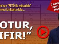 """Davuoğlu'nun """"FETÖ ile mücadele"""" karnesi """"kırıklarla"""" dolu!"""