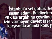 İstanbul'u sel götürürken susan adam, teröre karşı yapılan devlet tasarrufu konusunda anında konuştu!