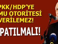 """Doğu Perinçek: """"PKK/HDP'ye kamu otoritesi verilemez!"""""""