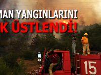Orman yangınlarını insanlık ve tabiat düşmanı PKK üstlendi!