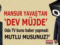 Mansur Yavaş'tan 'dev zam', ama Oda TV bunu haber yapmadı!