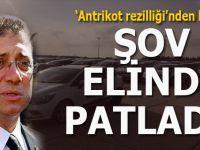 """İmamoğlu'nun Yenikapı'daki """"Lüküs araç"""" şovu elinde patladı!"""