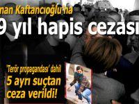 CHP İstanbul İl Başkanı Canan Kaftancıoğlu'nun davasında mahkeme kararını verdi!