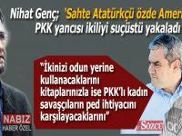 Nihat Genç, Yılmaz Özdil ve Soner Yalçın'ın maskelerini düşürdü; PKK saflarında....