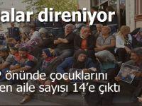Çocuklarını isteyen Anaların HDP önündeki direnişi sürüyor!