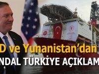 ABD ve Yunanistan'dan Türkiye ile ilgili skandal açıklama!