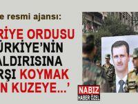 """Son dakika: """"Suriye ordusu, Türkiye'nin saldırısına karşı koymak için..."""""""