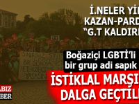 "Boğaziçi LGBTİ ""İ.neleri"" kudurdu; İstiklâl Marşı'na hakaret!"