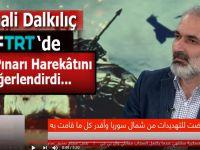Cumali Dalkılıç TRT Arapça kanalının, ABD ile yapılan anlaşmayla ilgili sorularını cevabladı!