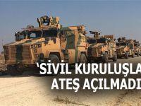 """""""Sivil kuruluşlara ateş açılmadı!"""""""