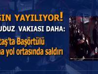 Kuduz salgını yayılıyor; Beşiktaş'ta Başörtülü bayana yol ortasında saldırı!
