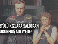 İstanbul'da başörtülü kızlara saldıran kuduz adliyede!