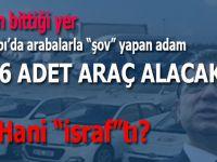 """Yenikapı'da Belediye araçları ile """"şhow"""" yapan adam 1826 adet araç alacak!"""