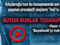 """Kılıçdaroğlu; """"Hazır mısınız gençler, Beyefendi'yi indireceğiz!"""""""