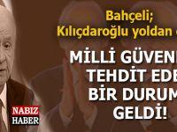 """Bahçeli: """"Kılıçdaroğlu, Milli Güvenliği tehdit eden bir duruma gelmiştir..."""""""