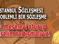 """Ufuk Coşkun: """"İstanbul Sözleşmesi problemli bir sözleşme, oturup, aklıselim tartışmalıyız!"""""""